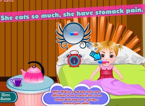 Cute mandy stomach care screenshot 10