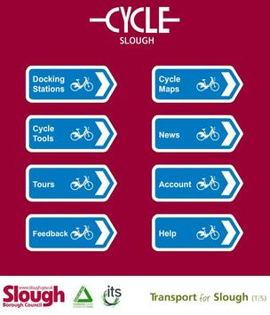 Cycle Slough poster