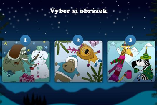 Vybarvené Vánoce poster