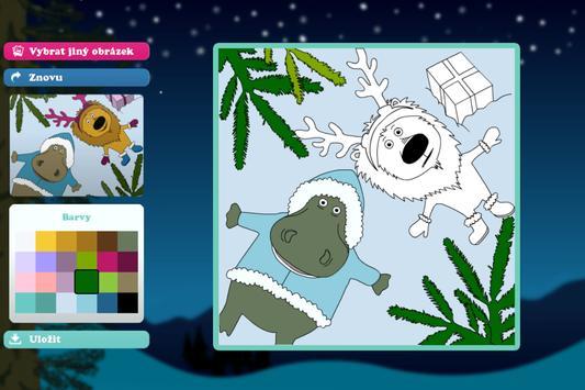 Vybarvené Vánoce screenshot 1