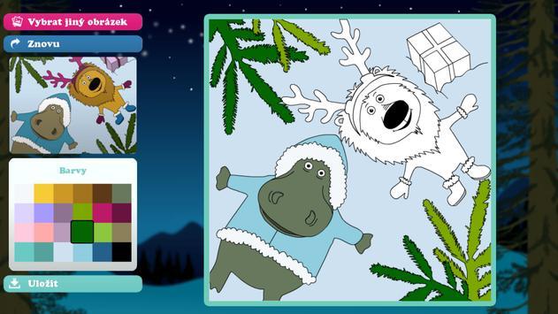 Vybarvené Vánoce screenshot 3