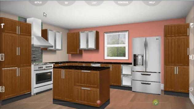 Udesignit Kitchen 3D planner الملصق