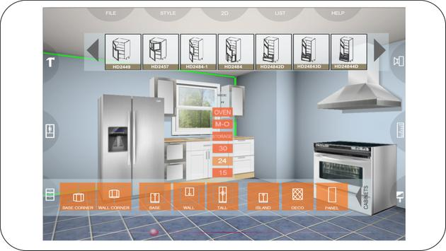 Udesignit Kitchen 3D planner تصوير الشاشة 11