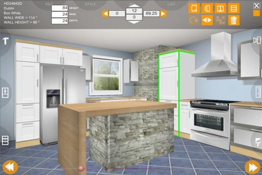Udesignit Kitchen 3D planner تصوير الشاشة 12