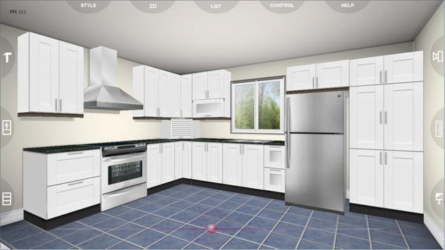Udesignit Kitchen 3D planner تصوير الشاشة 1