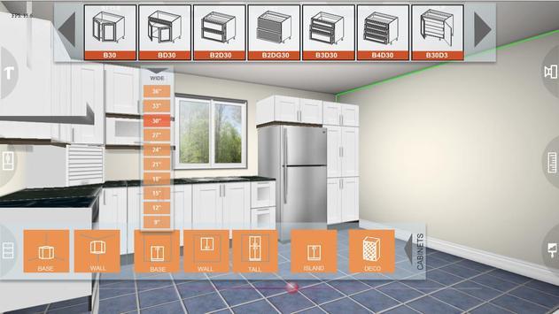 Udesignit Kitchen 3D planner تصوير الشاشة 2