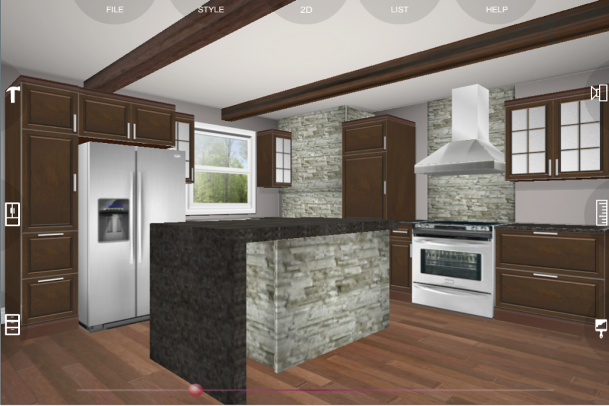 Udesignit Kitchen 3D planner for Android - APK Download
