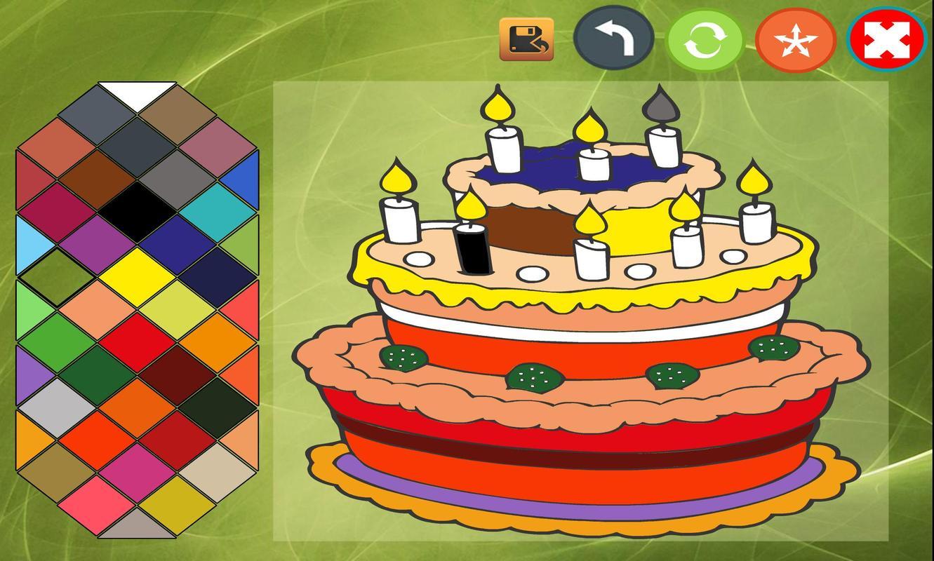 Cake coloring book APK تحميل - مجاني خفيفة ألعاب لأندرويد | APKPure.com