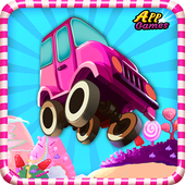 Candy Race Hill Climber FREE icon