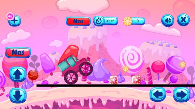 Candy Race Hill Climber FREE apk screenshot