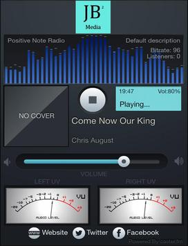 Positive Note Radio screenshot 1