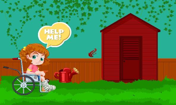 Caucasian Girl Escape screenshot 3