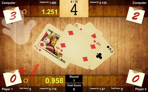 Slapjack-衾棉胎-樸克1-4人 screenshot 6