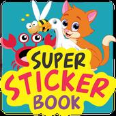 Super Sticker Book - Hewan icon