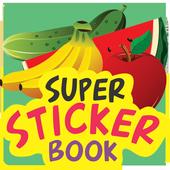 Super Sticker Book - Buah icon