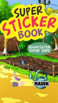 Super Sticker Book - Buah screenshot 1