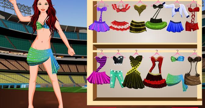 Cheerleader Dressup Girlgame screenshot 6