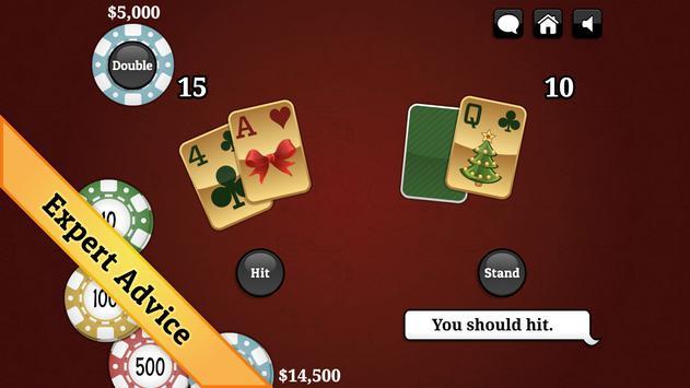 Christmas Blackjack screenshot 3