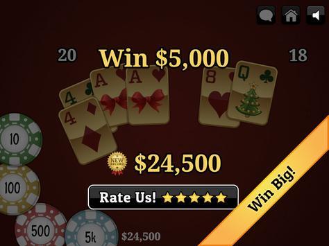 Christmas Blackjack screenshot 12