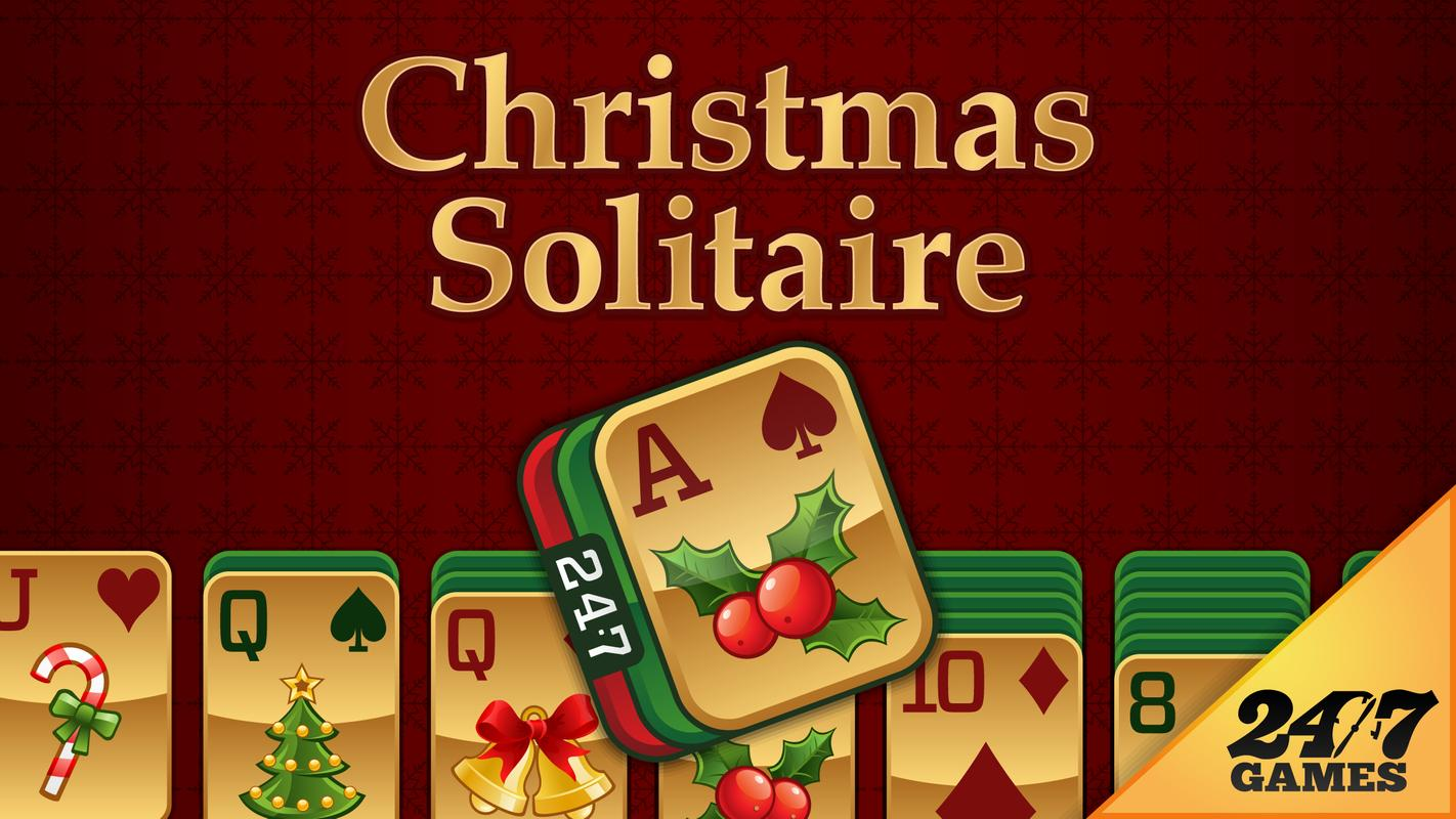 christmas solitaire poster