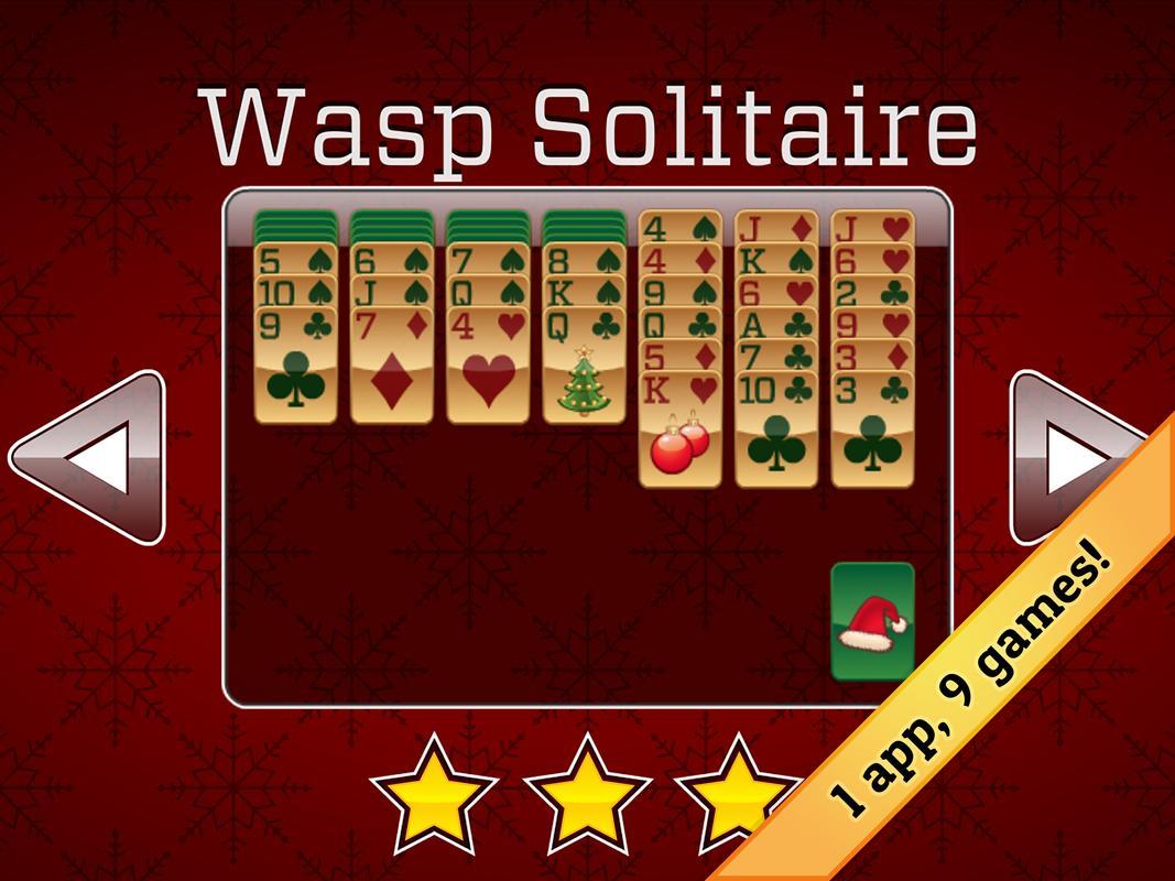 christmas solitaire apk screenshot - Solitaire Christmas