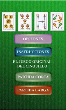 Cinquillo Original poster