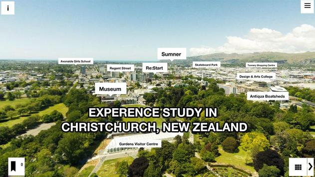 Christchurch Educated VR App poster
