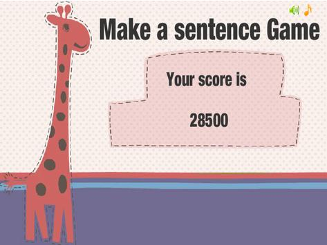 Sentence Game by ASL apk screenshot