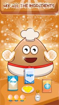 Cooking Pancakes For Pou-P poster
