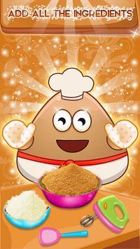 Cooking Pancakes For Pou-P apk screenshot