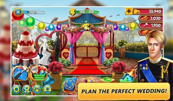 ... Hidden Object - Garden Wedding apk screenshot ...