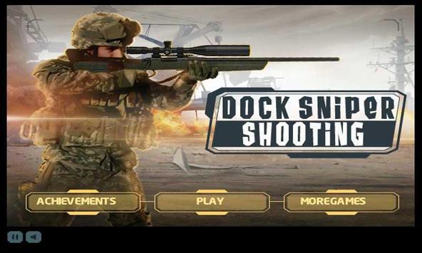 Dock Sniper Shooting poster