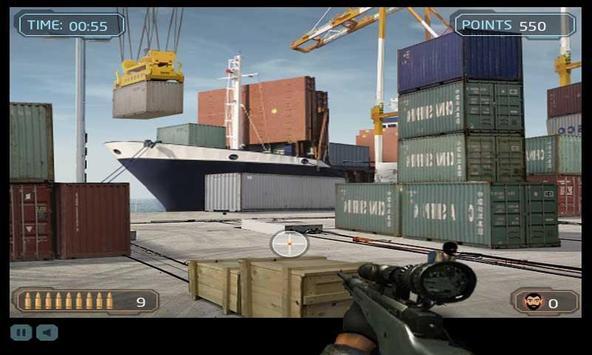Dock Sniper Shooting screenshot 10