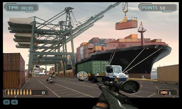 Dock Sniper Shooting screenshot 1