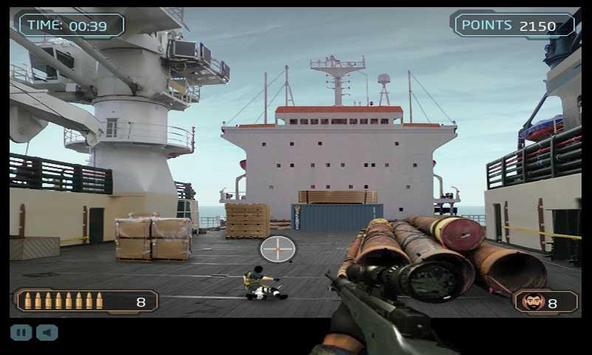 Dock Sniper Shooting screenshot 7