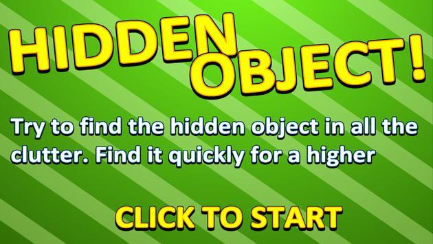 Hidden Object! poster