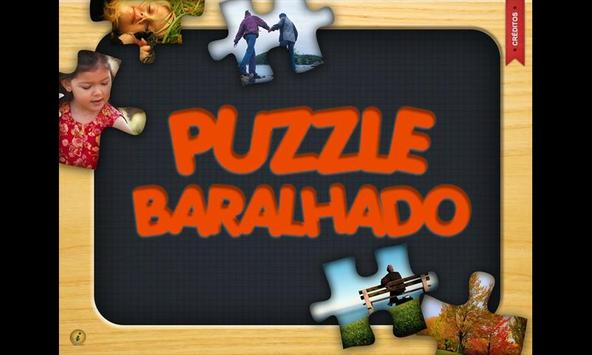 Puzzle Baralhado poster