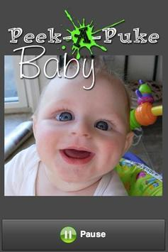 Peek A Puke Baby poster