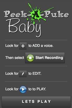 Peek A Puke Baby screenshot 2