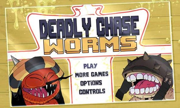 Deadly Chase:Worms apk screenshot