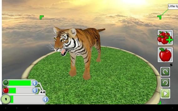 Virtual Pet 3D -  Tiger apk screenshot