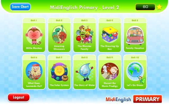 MidiEnglish (Primary 2) poster