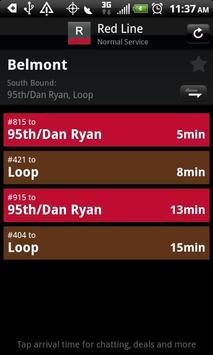 TransitChatter - CTA Tracker apk screenshot