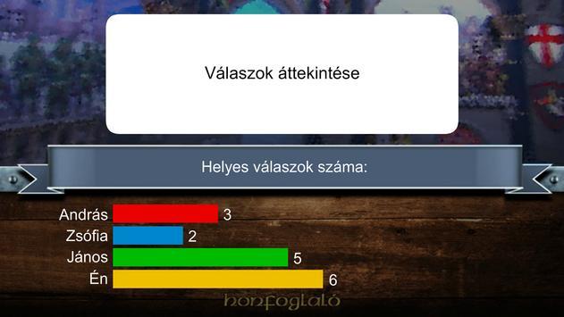 Honfoglaló Vetélkedő screenshot 7