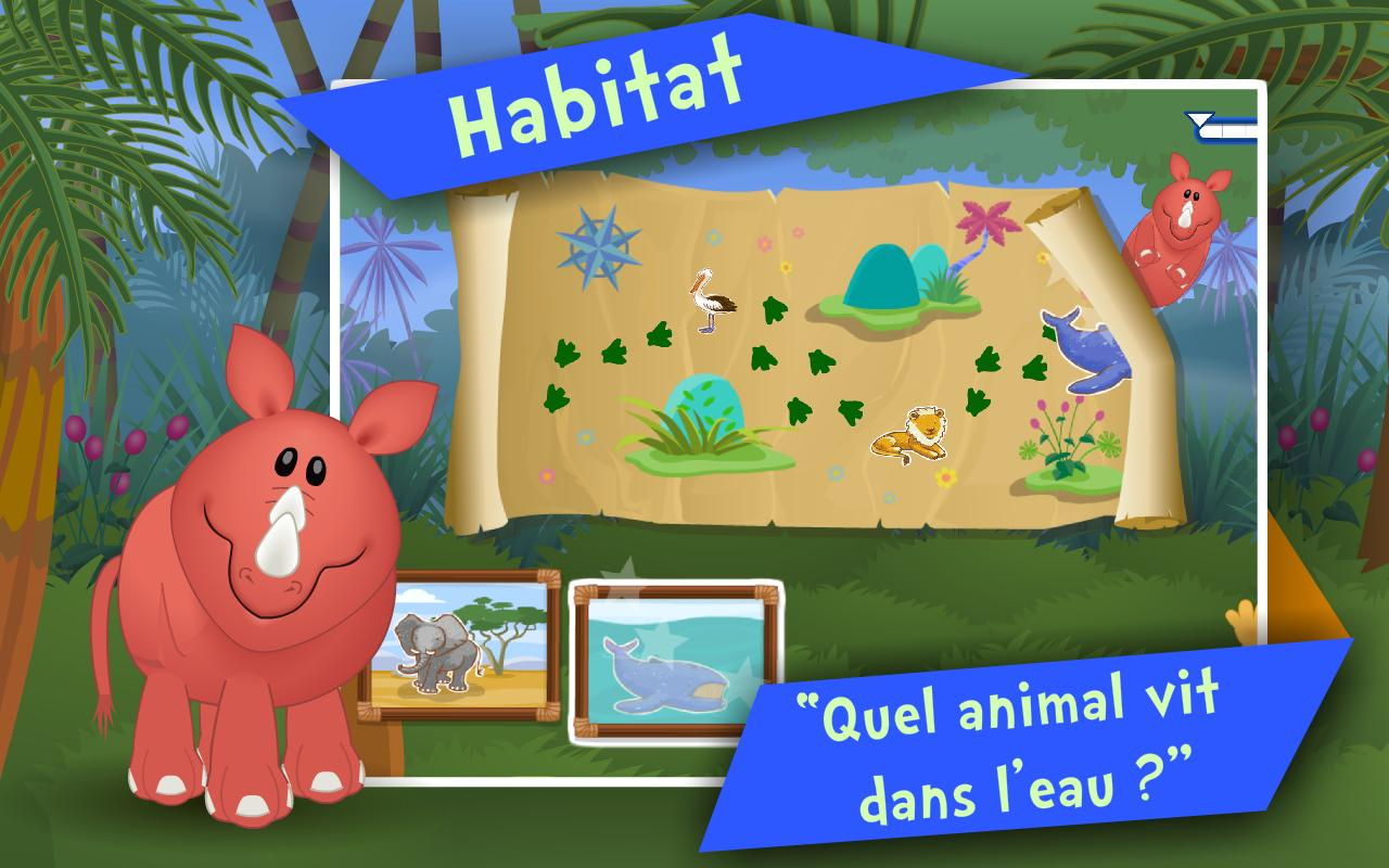 les animaux jeux enfants apk download free education app for android. Black Bedroom Furniture Sets. Home Design Ideas