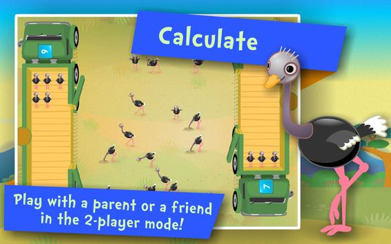 Numbers & Addition! Math games screenshot 3