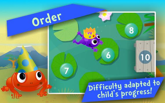 Numbers & Addition! Math games screenshot 1