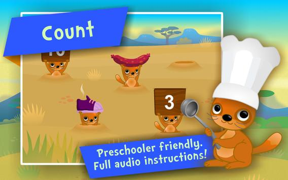 Numbers & Addition! Math games screenshot 2