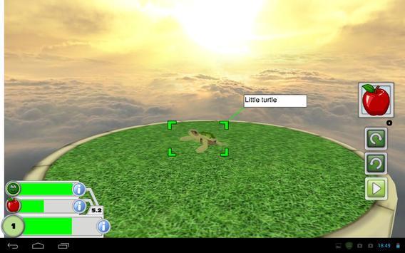 Virtual Pet 3D - Turtle apk screenshot