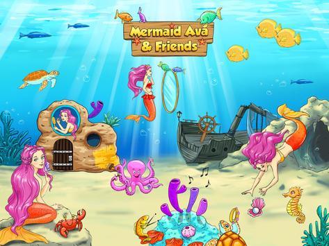 Mermaid Ava and Friends apk screenshot